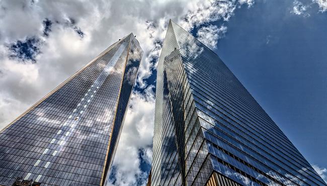 大都会のビル